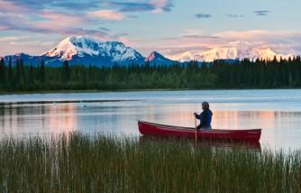Paisaje en Alaska