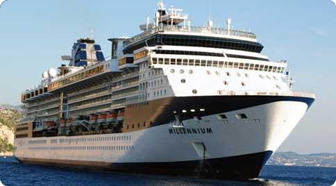 Barco Celebrity Millennium de la naviera Celebrity Cruises