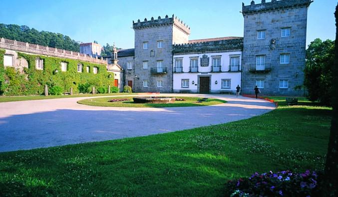 image de la vue du Pazo de Castrelos