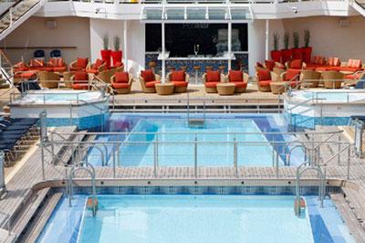 Imagen de una Piscina del barco Celebrity Silhouette