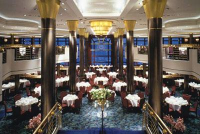 Imagen de un Restaurante del barco Celebrity Century
