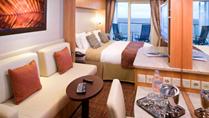 Imagen de un Camarote con balcón del barco Celebrity Constellation