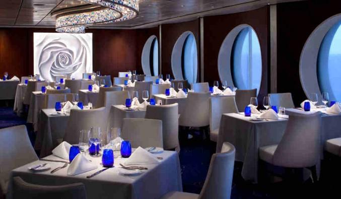 Imagen de un Restaurante del barco Celebrity Constellation