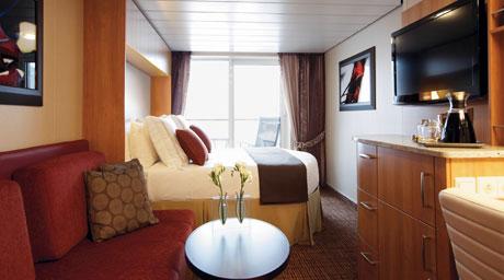 Imagen de un Camarote con balcón del barco Celebrity Equinox