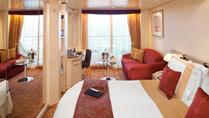 Imagen de un Camarote con balcón del barco Celebrity Infinity