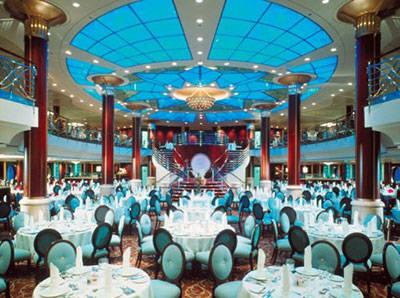 Imagen de un Restaurante del barco Celebrity Infinity