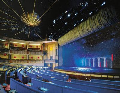 Imagen del Teatro del barco Celebrity Infinity