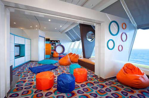 Imagen de una Zona Infantil del barco Celebrity Infinity