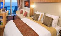 Imagen de un Camarote con balcón del barco Celebrity Solstice
