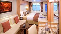 Imagen de un Camarote con vistas al mar del barco Celebrity Solstice