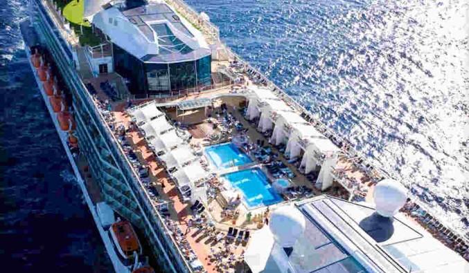 Imagen de la Cubierta del barco Celebrity Solstice