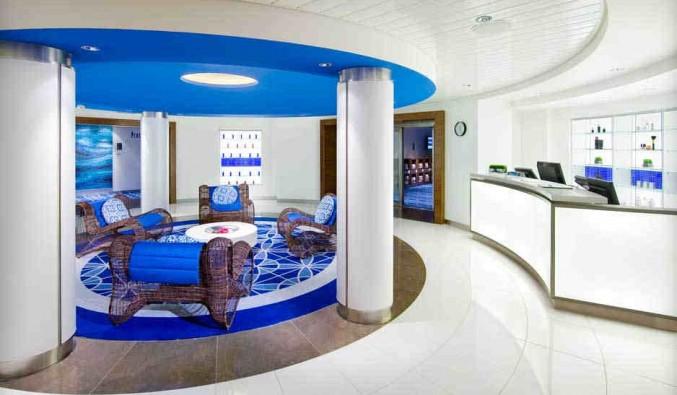 Imagen del Spa club del barco Celebrity Solstice