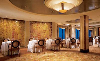 Imagen de un Restaurante del barco Celebrity Summit