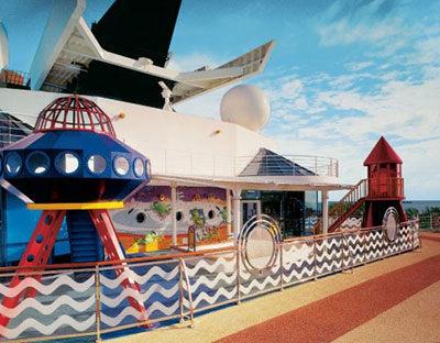 Imagen de una Zona infantil del barco Celebrity Summit