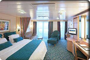 Imagen de una Suite del barco de cruceros Adventure of the Seas de Royal Caribbean