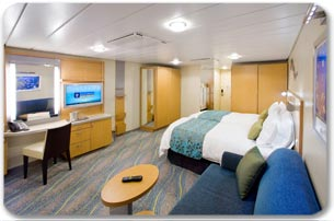 Imagen de un Camarote Interior familiar del barco Allure of the Seas