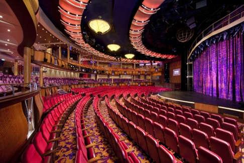 Imagen del Teatro Amber del barco Allure of the Seas