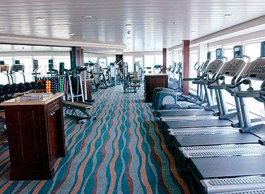 Imagen del Fitness Center del barco Azamara Quest