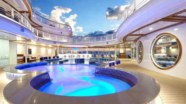 Imagen de la Cubierta del barco Disney Dream