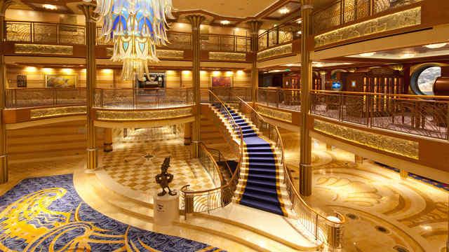 Imagen de la Recepción del barco Disney Dream