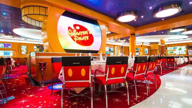 Imagen del Animator's Palate del barco Disney Fantasy