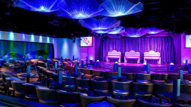 Imagen del Night Club del barco Disney Magic