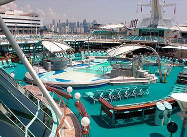 Imagen de la Cubierta del barco Legend of the Seas