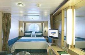 Imagen de un Camarote con vistas al mar Cubierta del barco Liberty of the Seas
