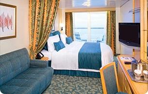 Imagen de un Camarote con balcón del barco Mariner of the Seas