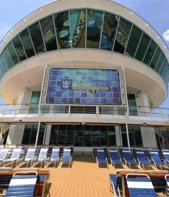 Imagen del Cine al aire libre del barco Mariner of the Seas
