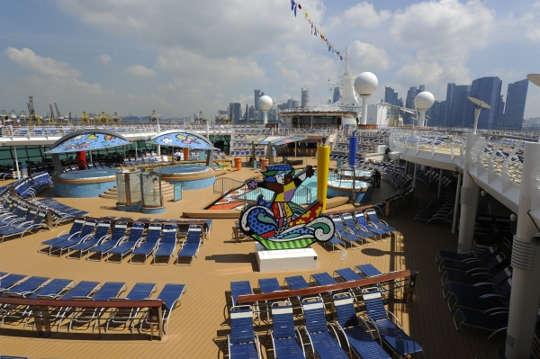 Imagen de la Cubierta del barco Mariner of the Seas