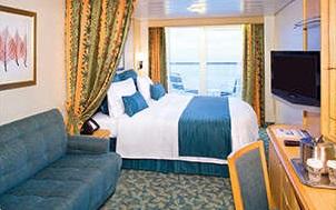 Imagen de un Camarote con balcón del barco Navigator of the Seas