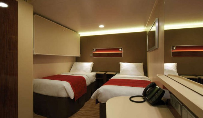Imagen de un Camarote interior del barco Norwegian Breakaway de Norwegian Cruise Line