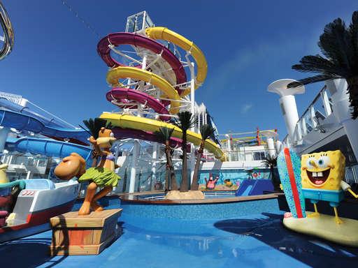Imagen de la Piscina para niños del barco Norwegian Breakaway de Norwegian Cruise Line