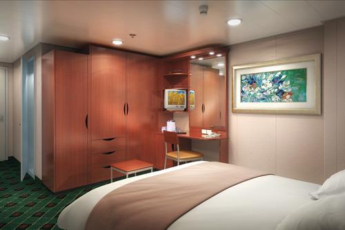 Imagen de un Camarote interior del barco Norwegian Sun