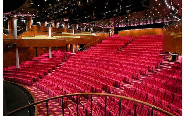 Imagen del Teatro Stardust del barco Norwegian Dawn de Norwegian Cruise Line