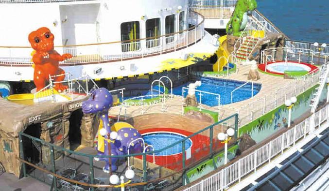 Imagen de la Piscina infantil del barco Norwegian Dawn de Norwegian Cruise Line