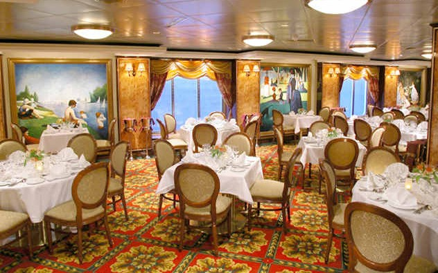 Imagen del Restaurante Impressions del barco Norwegian Dawn de Norwegian Cruise Line
