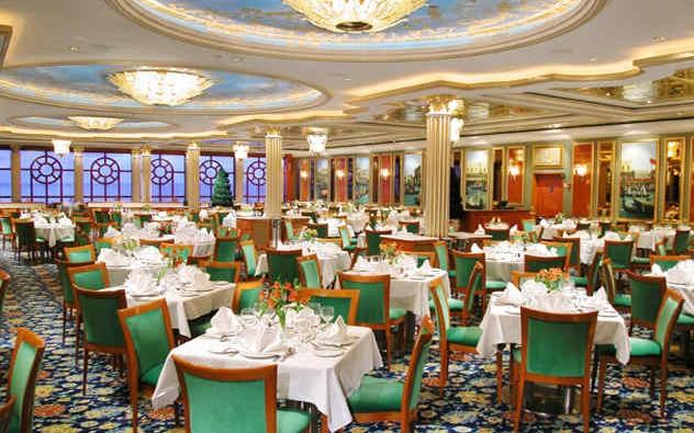 Imagen del Restaurante Venetian del barco Norwegian Dawn de Norwegian Cruise Line