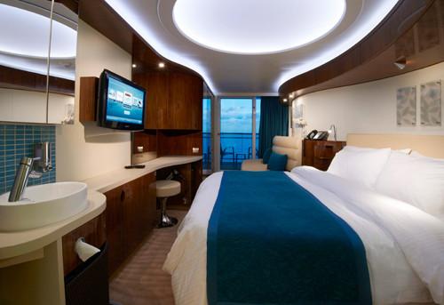 Imagen de un Camarote con balcón del barco Norwegian Epic