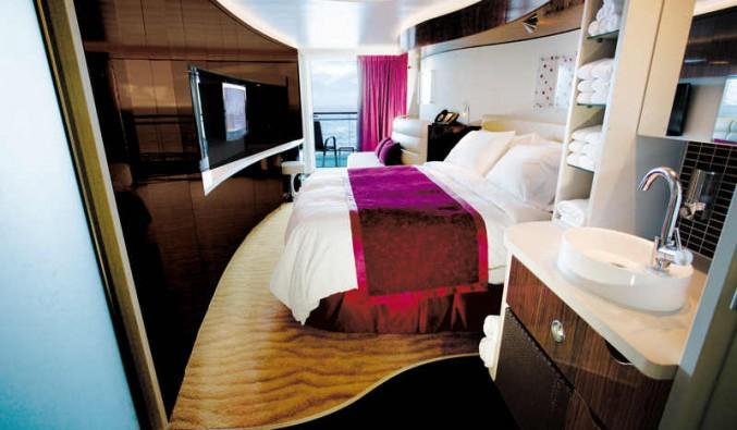Imagen de una Mini Suite del barco Norwegian Epic