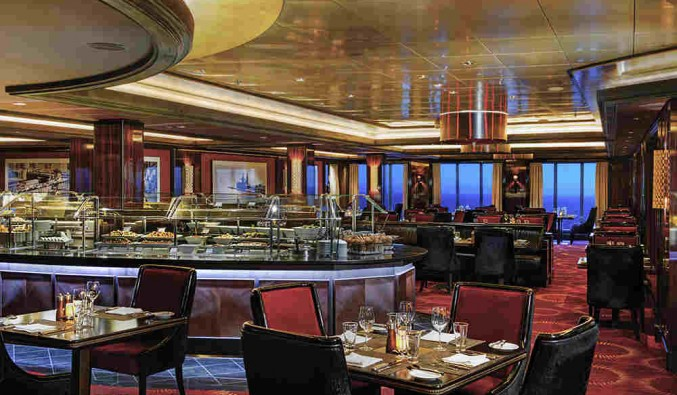 Imagen del Restaurante Moderno del barco Norwegian Epic