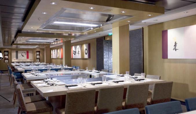 Imagen del Restaurante Teppanyaki del barco Norwegian Epic