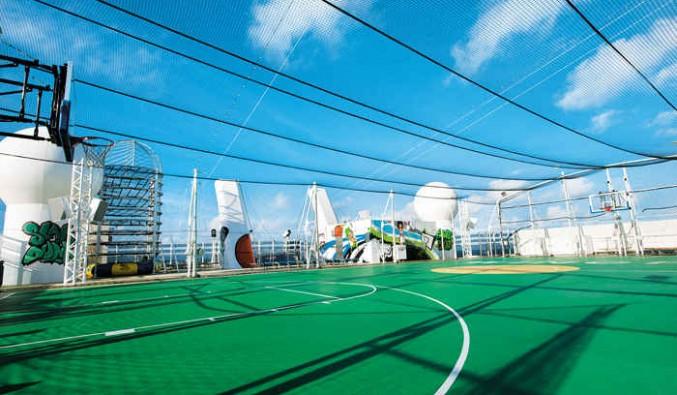 Imagen de la Zona deportiva del barco Norwegian Epic