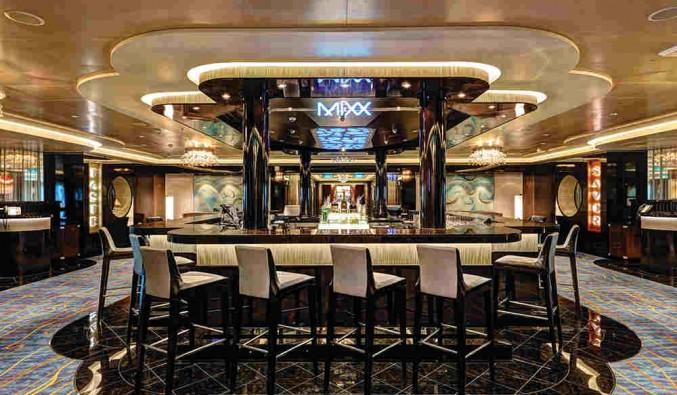 Imagen del Mixx Bar del barco Norwegian Escape