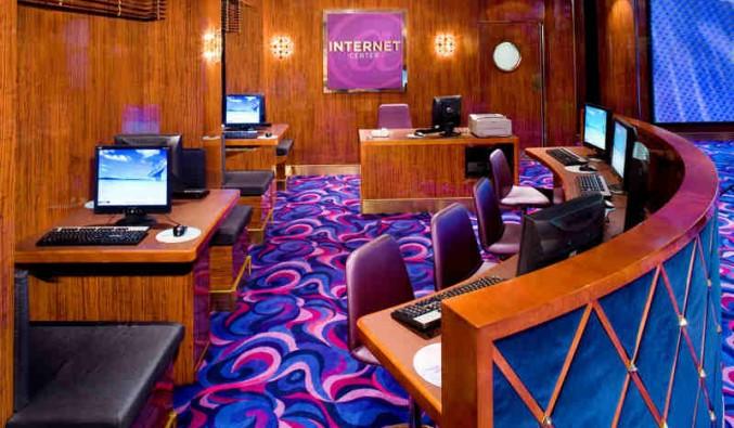Imagen del Punto de Internet del barco Norwegian Gem