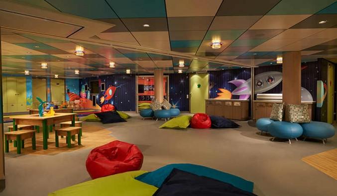 Imagen de una Zona infantil del barco Norwegian Getaway