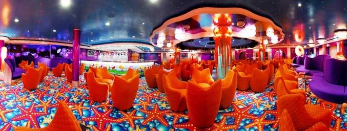Imagen del Cabaret Medusa del barco Norwegian Jade
