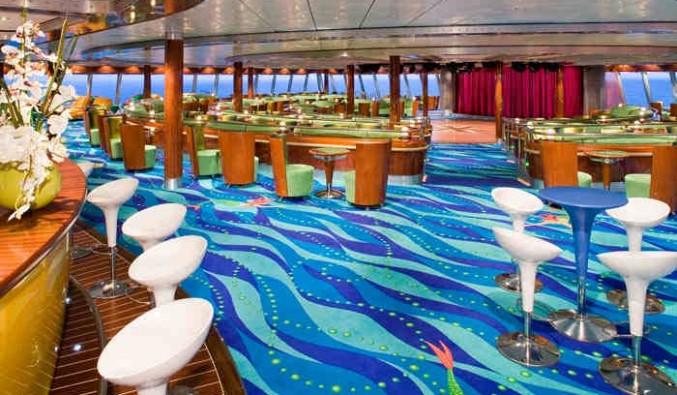 Imagen del Salón Spinnaker del barco Norwegian Jade