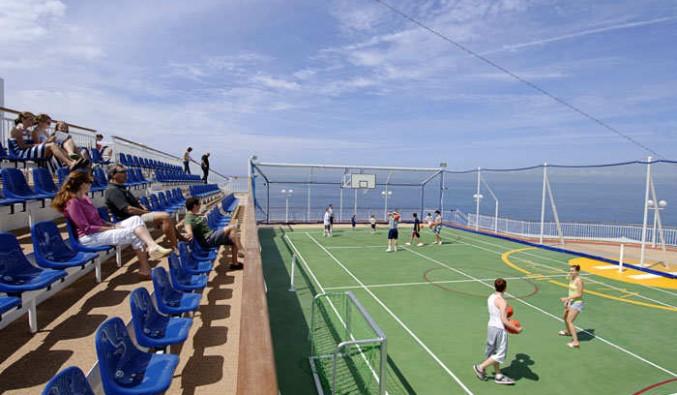 Imagen de la Cancha de baloncesto del barco Norwegian Jewel